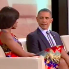 Video of Barack and Michelle Obama on Oprah
