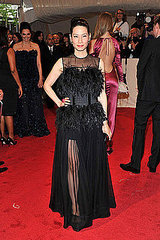 Lucy Liu(2011 Met Gala...&quot;Alexander McQueen: Savage Beauty&quot;)