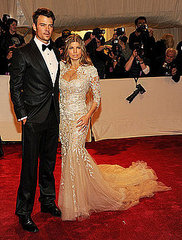 "Josh Duhamel and Fergie (2011 Met Gala...""Alexander McQueen: Savage Beauty"")"