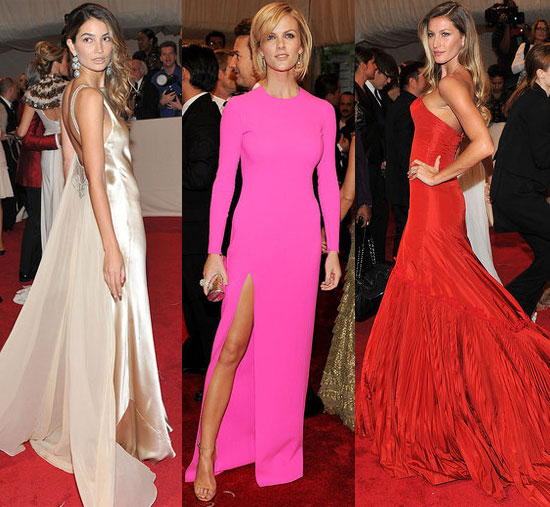2011 Met Costume Institute Gala: Models on Show!