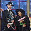 Community Season Finale Pictures With Josh Holloway