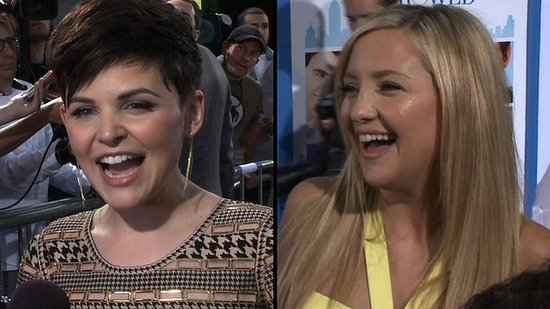 Video: Kate Hudson and Ginnifer Goodwin Have Wedding Fever at the Something Borrowed Premiere!