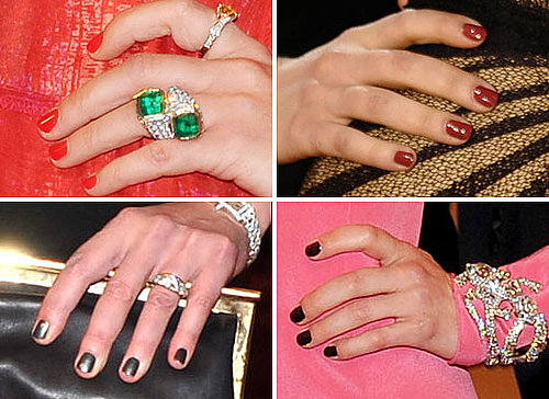 Pictures of Celebrity Manicures at the 2011 Met Costume Institute Gala