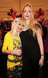 Betsey Johnson with daughter Lulu.