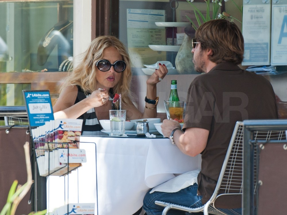 New Parents Rachel Zoe and Rodger Berman Hit the Town For a Special Lunch