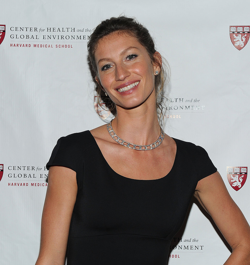 Gisele Bundchen Dresses Up in Victoria Beckham to Be Honored For Her Environmental Work