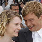 Mia Wasikowska and Henry Hopper