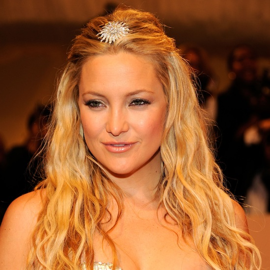 Wedding Makeup Bohemian Kate Hudson always nails the beach goddess look