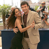 Halle Berry shared a dance with Hugh Jackman at a photocall for X-Men: The Last Stand in 2006.