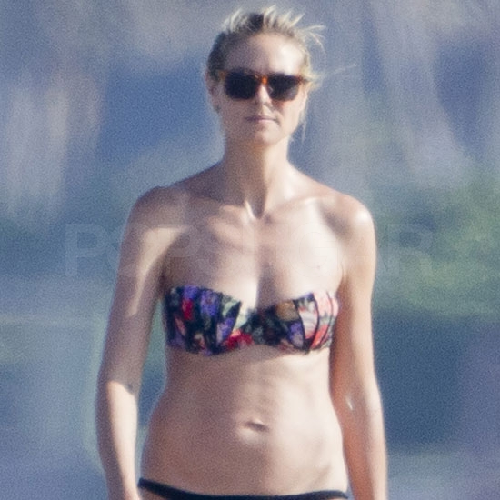 Heidi Klum Breaks Out Her Bikini Following a Costumed Vow Renewal With Seal