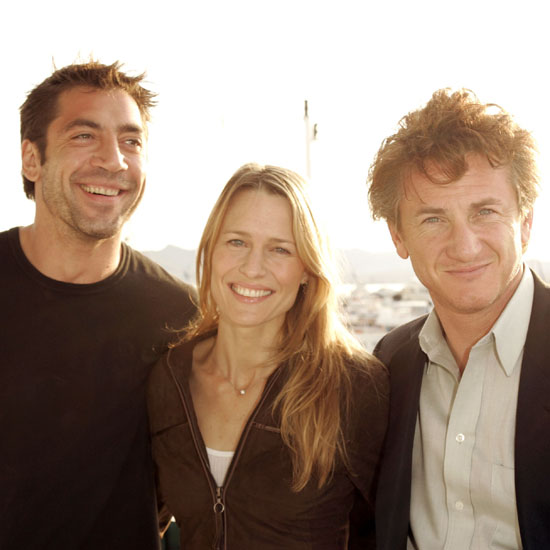 In 2004, Javier Bardem, Robin Wright, and Sean Penn partied on a yacht together.