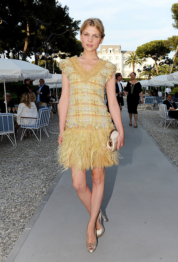 Clemence Poesy in Chanel Spring 2011.