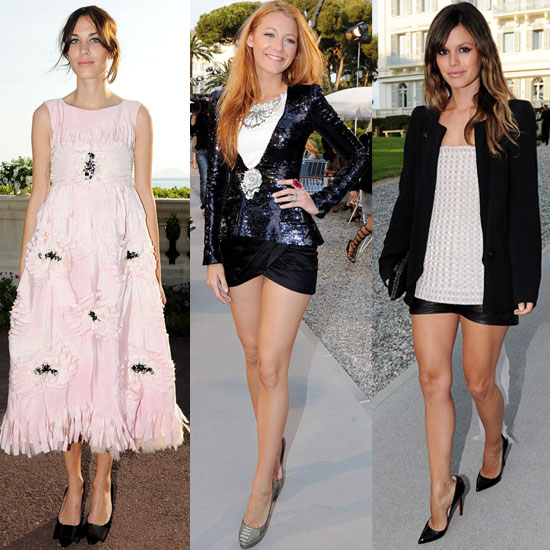 Which Chanel Cruise Show Attendee Looks Most Fab?