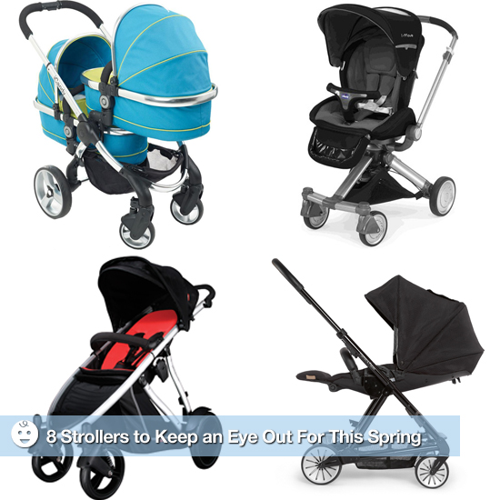 Strollin': 8 Strollers to Keep an Eye Out For This Spring
