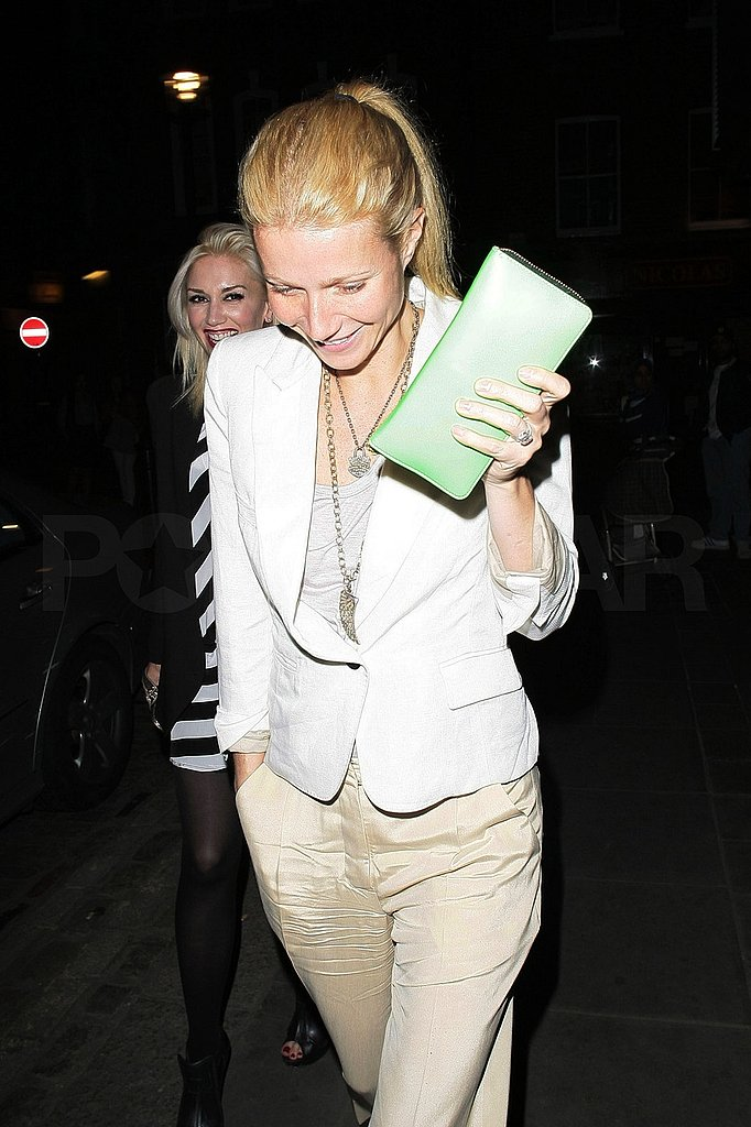 Gwyneth Paltrow Shows Gwen Stefani Her Favorite London Spots