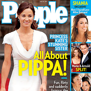 Pippa Middleton People Cover Story