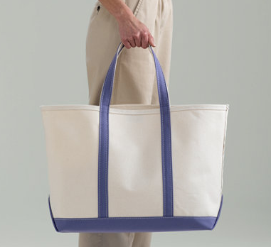 L.L. Bean Canvas Large Boat Tote ($32)