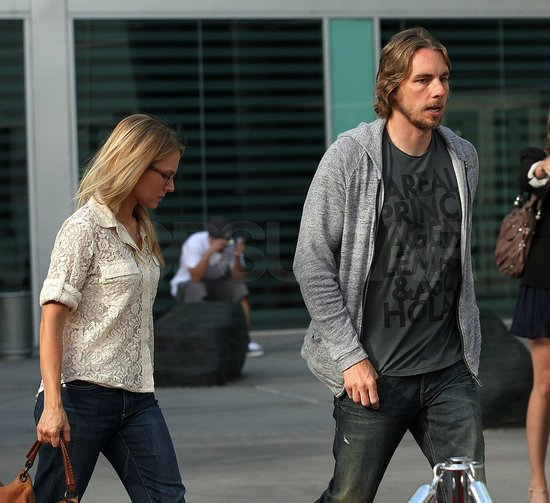 Kristen Bell and Dax Shepard Make It a Movie Night