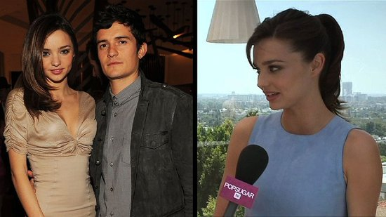 Video: Miranda Kerr Praises New Dad Orlando Bloom's Parenting Skills!