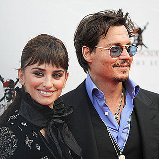 Penelope Cruz Pictures in Russia With Johnny Depp at Pirates of the Caribbean Premiere