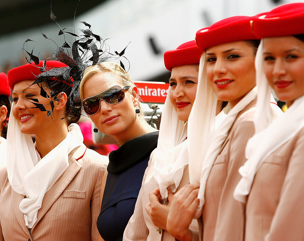 She watched during the 2009 Melbourne Cup Day in Australia.