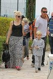 Gwen Stefani and Gavin Rossdale Land in Cannes With Kingston and Zuma