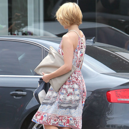 Guess Which Blonde Showed Off Her New Short Hairdo?