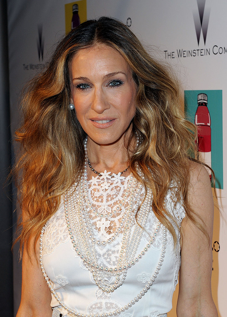 Sarah Jessica Parker Parties With Harvey Weinstein and Hits the Carpet in Cannes