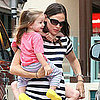 Jennifer Garner Pictures With Violet Affleck and Seraphina Affleck
