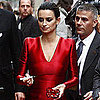Penelope Cruz Wearing a Gorgeous Red Gown For the Pirates of the Caribbean Munich Premiere