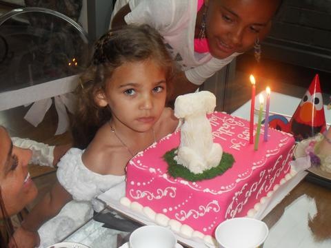 Rachel Roy tweeted this photo from daughter Tallulah's third birthday party.