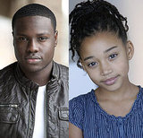 Dayo Okeniyi and Amandla Stenberg as Thresh and Rue