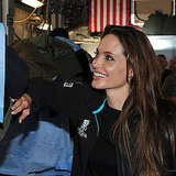 Angelina Jolie Visits Wounded Soldiers Between Glamorous Cannes Appearances