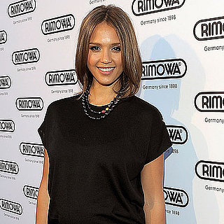 Pictures of Jessica Alba at Rimowa Opening