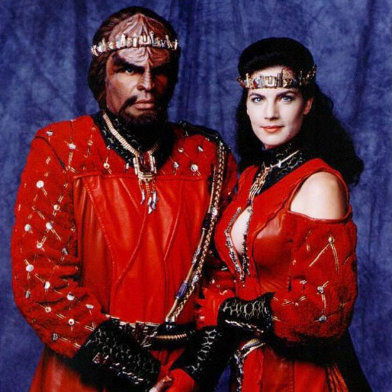 Jadzia Dax and Worf — Star Trek: Deep Space Nine