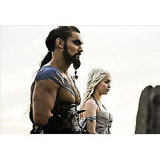 Daenerys Targaryen and Khal Drogo — Game of Thrones