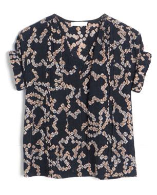 Bruce Shibori Kumo Roll Sleeve Shirt ($330)