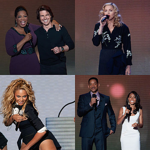 Pictures of Tom Cruise, Katie Holmes, Will Smith, Beyonce and More at the Oprah Farewell Spectacular