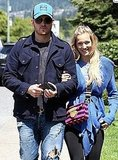 Michael Bublé and Luisana Lopilato Bring Their Newlywed Glow Back to His Home