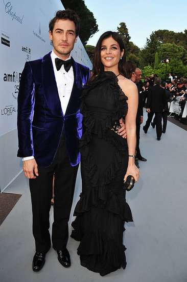 Robert Konjic and Julia Restoin-Roitfeld in Emilio Pucci