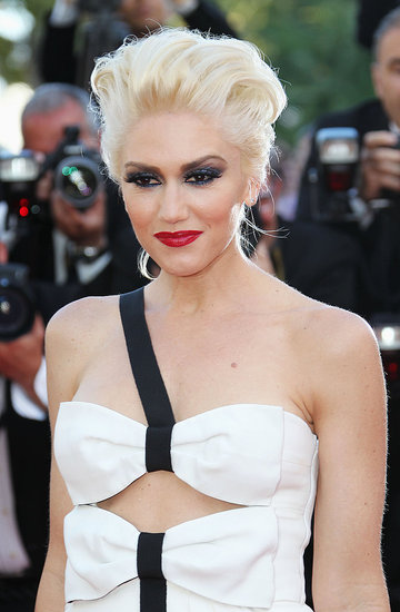 Gwen Stefani Steps Out in Black and White at Sean Penn's Cannes Premiere