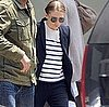 Ashley Olsen Wears Prada Oxford Loafers