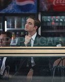 Robert Pattinson Logs a Weekend Working on Cosmopolis!