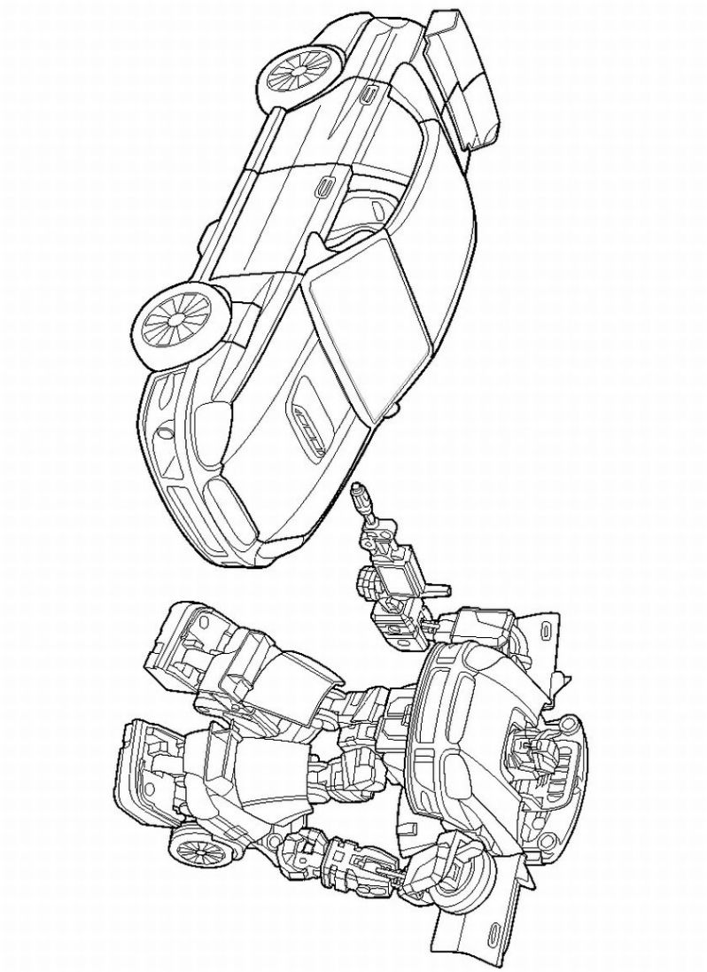 transformers coloring pages to print