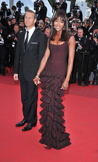 Vladislav Doronin and Naomi Campbell in Alaia