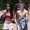 Selena Gomez Bikini Pictures at the Beach With Justin Bieber