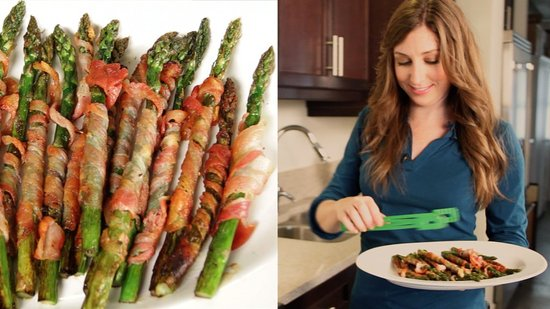 Crowd Pleasing Recipe: Grilled Pancetta-Wrapped Asparagus