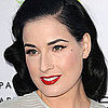 Dita Von Teese Uses Just For Men to Dye Her Eyebrows