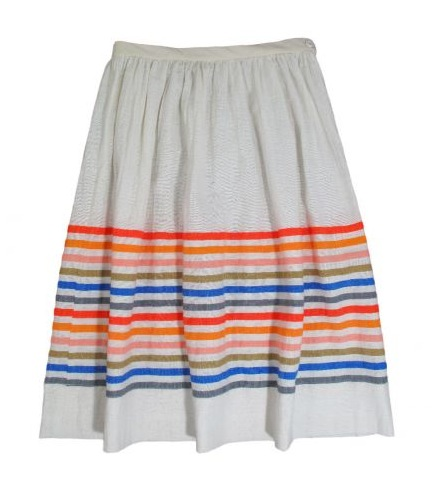 Slip this skirt over a maillot.   Lemlem Tulla Skirt, $175