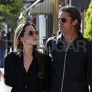 Brad Pitt and Angelina Jolie Pictures Shopping in LA